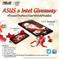 Round 2: Asus FonePad 7 Giveaway