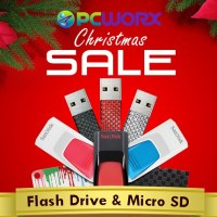 PCWorx Holds USB and MicroSD Card Sale