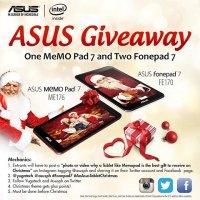 Giveaway: An Asus MeMO Pad 7