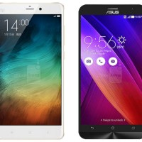Specs Comparison: Xiaomi Mi Note Pro vs ASUS Zenfone 2
