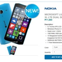 Microsoft Lumia 640 XL LTE lands in PH for Php12K