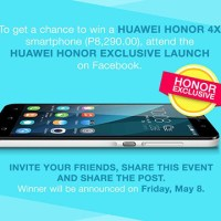 Lazada offers a chance to win Huawei Honor 4x
