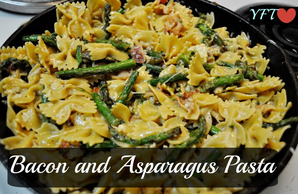 Bacon and Asparagus Pasta