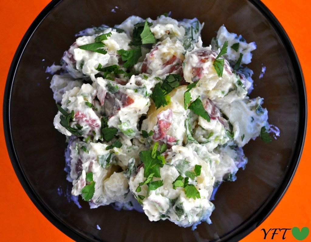 Green Fiesta Potato Salad
