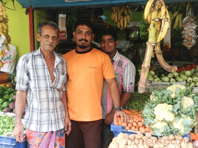 Our local greengrocers - really lovely guys