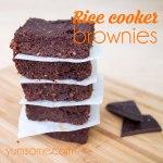 vegan-rice-cooker-brownies