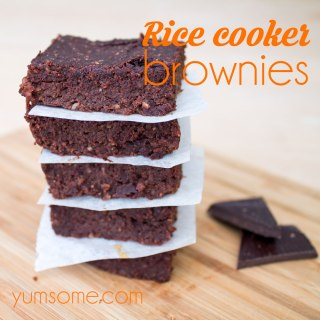 vegan-rice-cooker-brownies