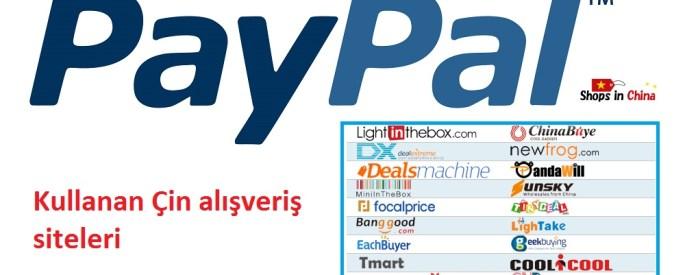 paypal kullanan alışveriş siteleri