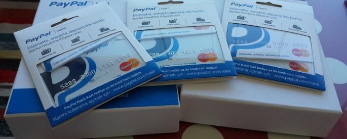 PayPal nakit nedir