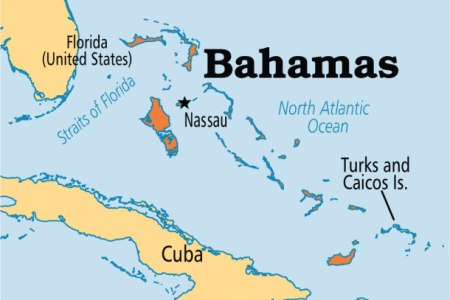 map florida bahamas
