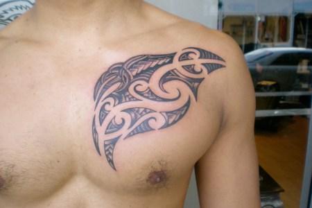 maori tattoo design for shest