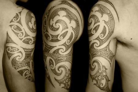 maori tattoo for arm