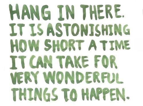 Hang in