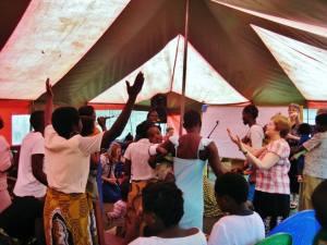ywam blantyre prayer tent