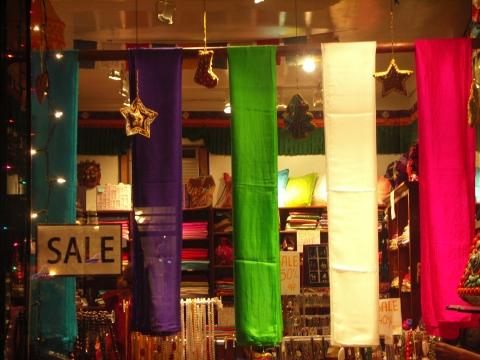 NY- Greenwich Village- Christmas Windows