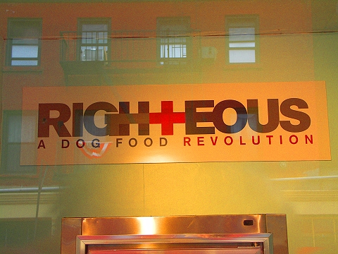 NY- Tribeca- Storefronts, Signs and Windows- Righteous Dog Food Company