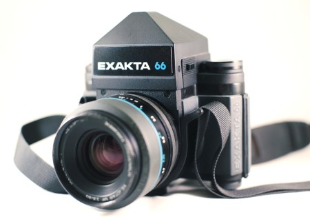 Exakta 66 camera.  Photo by Zach Horton.