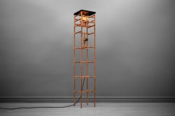 Small Of Industrial Floor Lamp