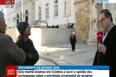 Repórter da SIC Notícias é agredido em direto [vídeo]