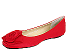 Romantic Soles - Geneva (Red Satin) - Footwear