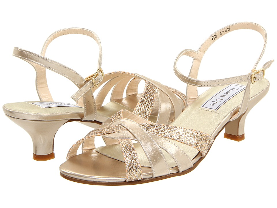 Touch Ups Jane (Champagne) Women's Bridal Shoes
