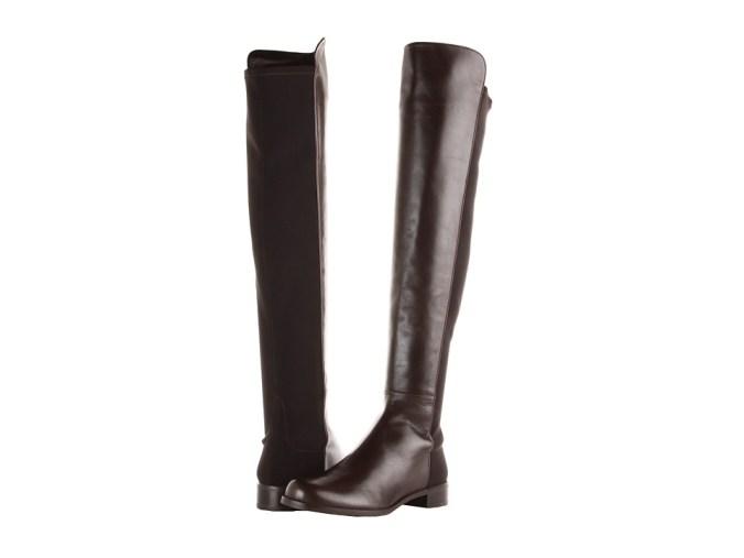 Stuart Weitzman - 5050 (Cola Nappa) Women's Pull-on Boots