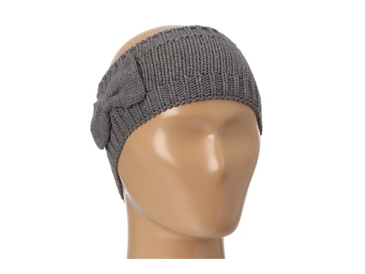 San Diego Hat Company REC1008 Recycled Yarn Bow Headband (Grey) Traditional Hats