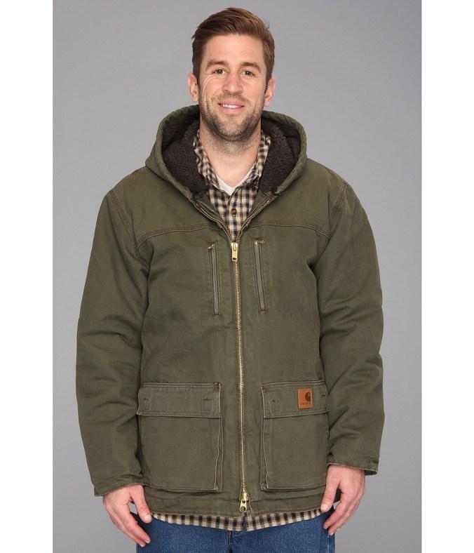 Carhartt - Sandstone Jackson Coat (3XL/4XL) (Army Green) Men's Coat