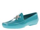 Vivienne Westwood - Plastic Skull Moccasin (Blue Acqua) - Footwear