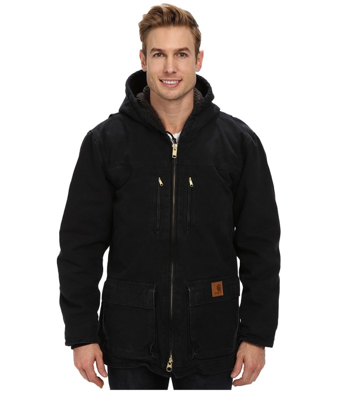 Carhartt - Jackson Coat (Black) Men's Coat