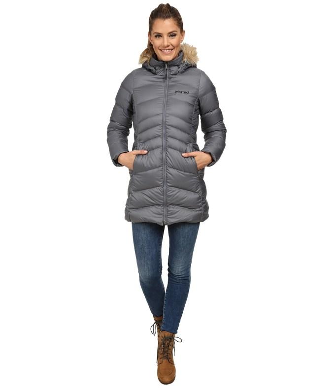 Marmot - Montreal Coat (Steel Onyx) Women's Coat
