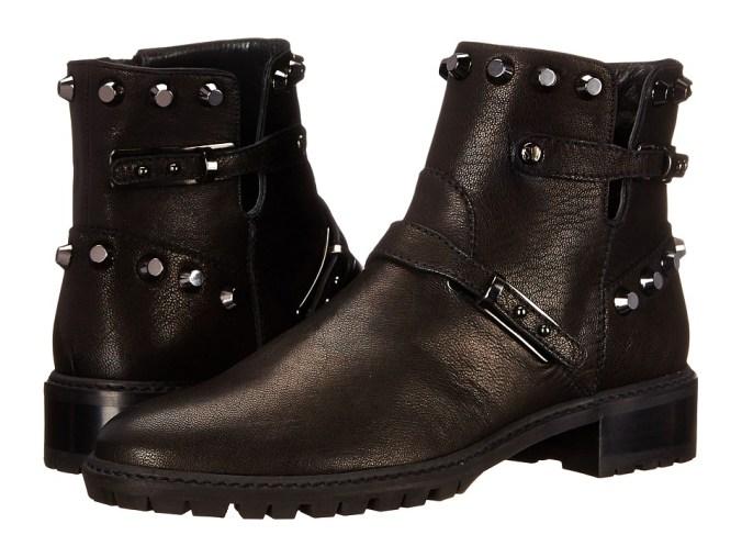 Stuart Weitzman - Gowest (Black Vecchio Nappa) Women's Pull-on Boots