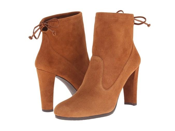 Stuart Weitzman - Glove (Amaretto Suede) Women's Boots