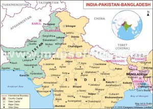 Pakistan and Bangladesh used to be one country before they split. Nevertheless, there are cultural and linguistic differences.