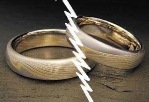 wedding rings divorce