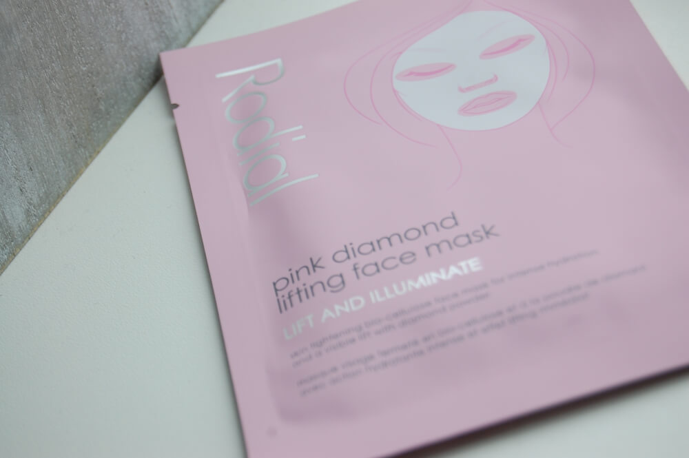 Rodial Pink Diamond Lifting Sheet Mask