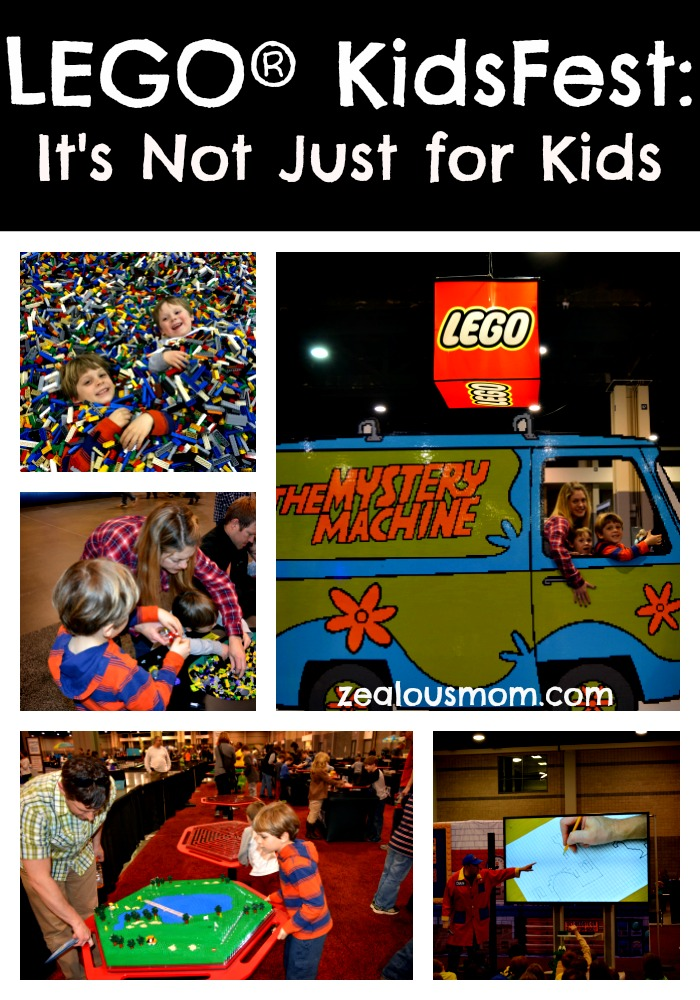 LEGO KidsFest: It's Not Just for Kids #LEGO #familyfun