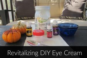 Revitalizing DIY Eye Cream