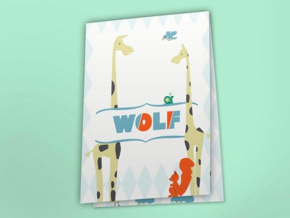 Geboortekaart_Wolf_Zandhaus_voorkant