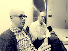 Phillip Reyland and Roland Dubois, cofounders of Byte Dept.