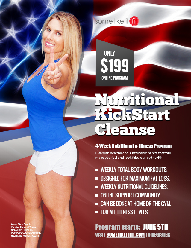 2017 july 4 cleanse and cut program