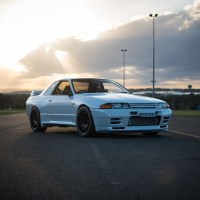 David Dalrymple hits the drags in his time attack spec R32 GT-R