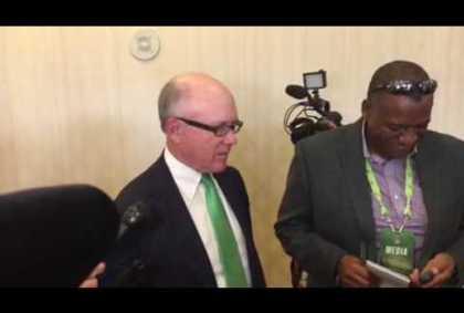 NJ Jets Owner Woody Johnson On Quarterback Problem – Vlog