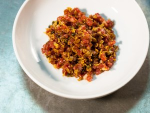 Steak Tartar do Estela em Nova York © 2013 Brent Herrig Photography
