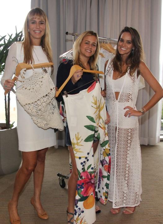 Lenise e Raquel Velmovitsky e Sabine Arias