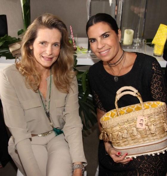 Ana Paula Leão Teixeira e Cris Ferracciu