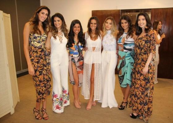 Maria victoria Rodrigues dos Santos, Ana Gabriela Lage, Gabriella Severiano Ribeiro, Sabine Arias, Katrin Kenigsberg e Patricia Faria e Isabela Arias