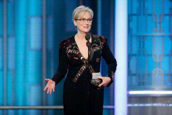 Meryl Streep e seu discurso emocionado