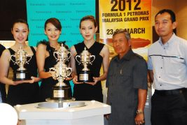 Tiffany & Co Trophies for 2012 Malaysian F1 - 17