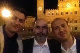Con Vito in Piazza del Campo
